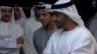 بالفيديو: محمد بن زايد يتفقد متحف المستقبل ضمن فعاليات القمة العالمية للحكومات