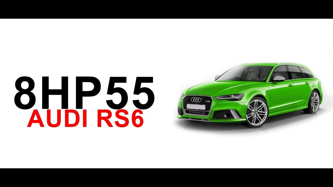 Разборка и усиление АКПП 8hp55 / Audi RS6 / 1100 Hp / часть 1