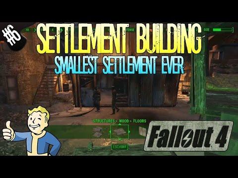 Fallout 4 | Settlement Building | Part 6 | Smallest Settlement Ever