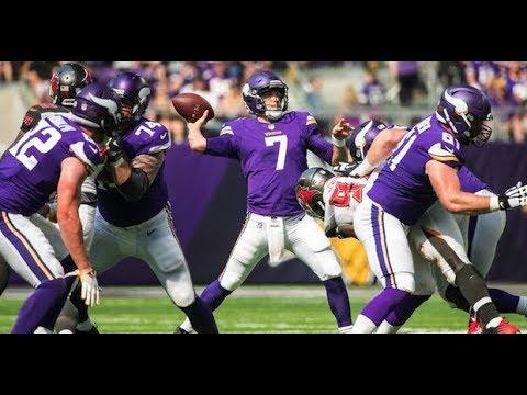 Case Keenum vs Bucs (NFL Week 3) - 369 Yards + 3 TDs! Impressive! | 2017-18 NFL Highlights HD