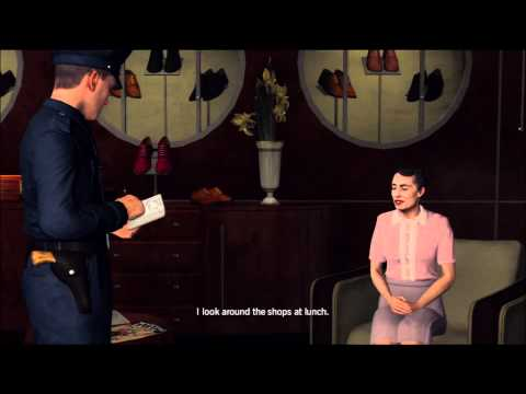LA Noire Walkthrough: Case 4 - Part 1 [1080p HD] (XBOX 360/PS3)