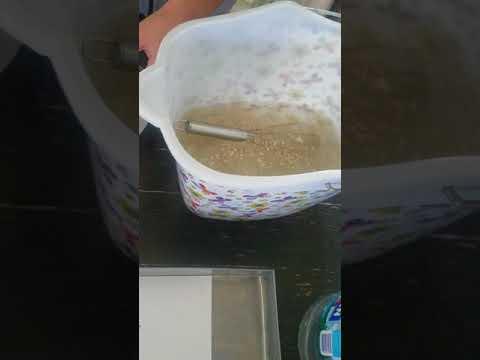 Ebru Marbling Art Tutorial Part 1 - Water Solution