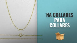 """Top 10 Ventas Na 2018: Orostar Solid 14K Yellow, White Or Rose Gold 0.8mm Thin Rope Chain 16""""-30"""""""