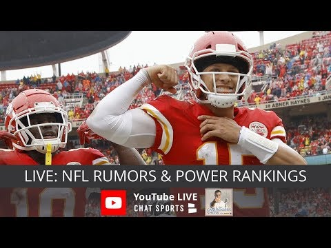 NFL Rumors, Derek Carr Trade Rumors, Dez Bryant News, LeVeon Bell Trade & NFL Week 7 Power Rankings