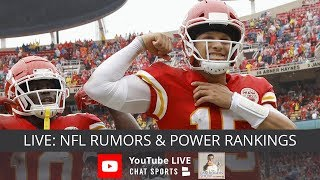 NFL Rumors, Derek Carr Trade Rumors, Dez Bryant News, Le'Veon Bell Trade & NFL Week 7 Power Rankings thumbnail