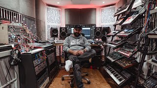 A studio unlike any we've ever seen. London-based techno producer E...
