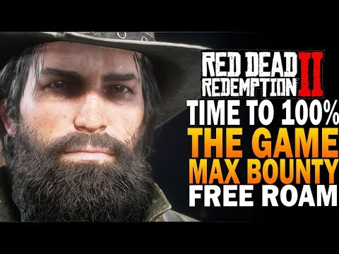 Time to 100% The Game! Max Bounty Free Roam - Red Dead Redemption 2 Members Only Chat thumbnail