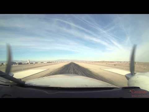 IFR trip Boundary Bay, BC - Las Vegas, NV in Seneca V