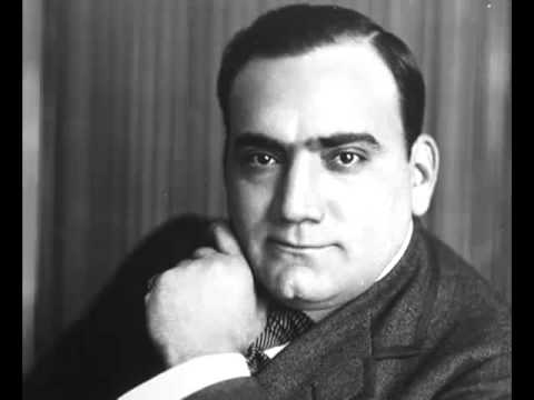 """Caruso sings """"The Palms"""" (Les Rameaux) - sacred music by Faure"""