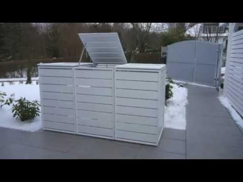 In A Box Mulltonnenverkleidung Youtube