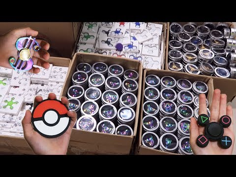 Thumbnail: Fidget Spinners Heaven - Pokemon, PS4 and More - Find Best Fidget Toy