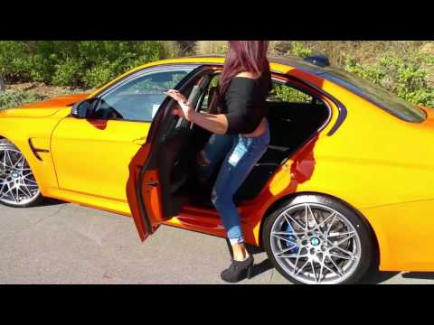 NEW BMW M3 Fire Orange / Competition Package / Exhaust Sound / 20  M Wheels / BMW Review