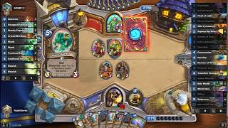 Hearthstone OTK Paladin: The Old Flob into Zephyrs Trick