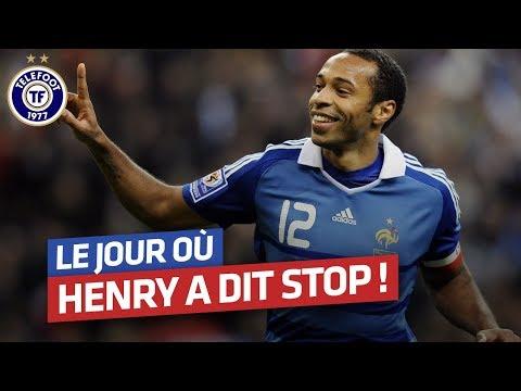 Le jour où Thierry Henry a dit stop (Décembre 2014)