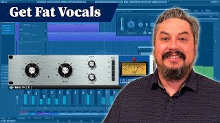 Fattening up Vocals with Parallel Compression