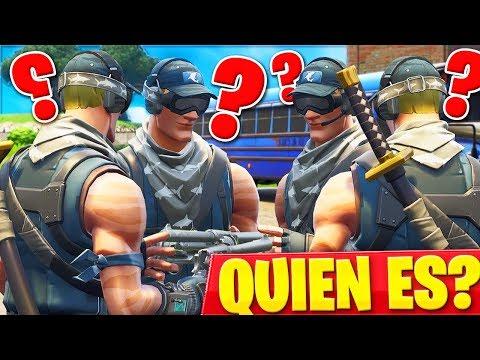 JUGANDO A QUIEN ES EL ASESINO EN EL LOBBY DE FORTNITE! - Roier