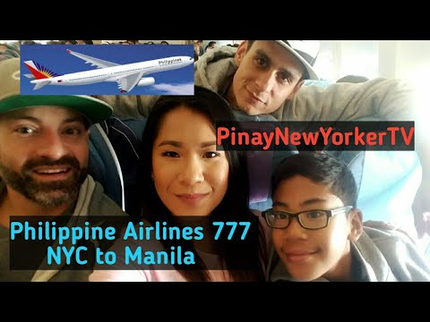 Philippine Airlines 777 NYC, Vancouver to Manila | Hello Phillippines Pinay New Yorker TV Vlog