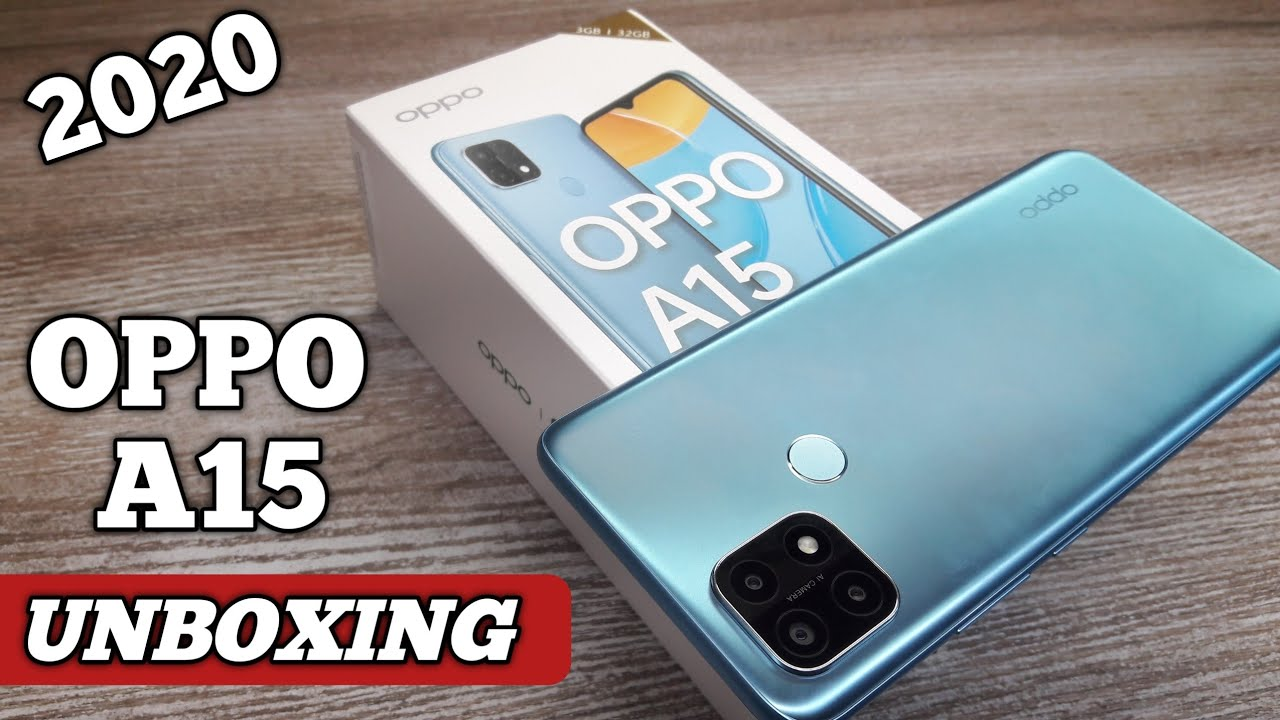 Download OPPO A15 Unboxing - Should You Buy it ?