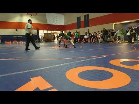 Semifinals @ league individual Championship valley point middle school matt sosebee 7th grade 2019