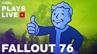 Fallout 76: Brotherhood of Steel Faction Questing - IGN Plays Live
