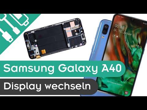 Samsung Galaxy A40 Display Reparieren   Kaputt.de  