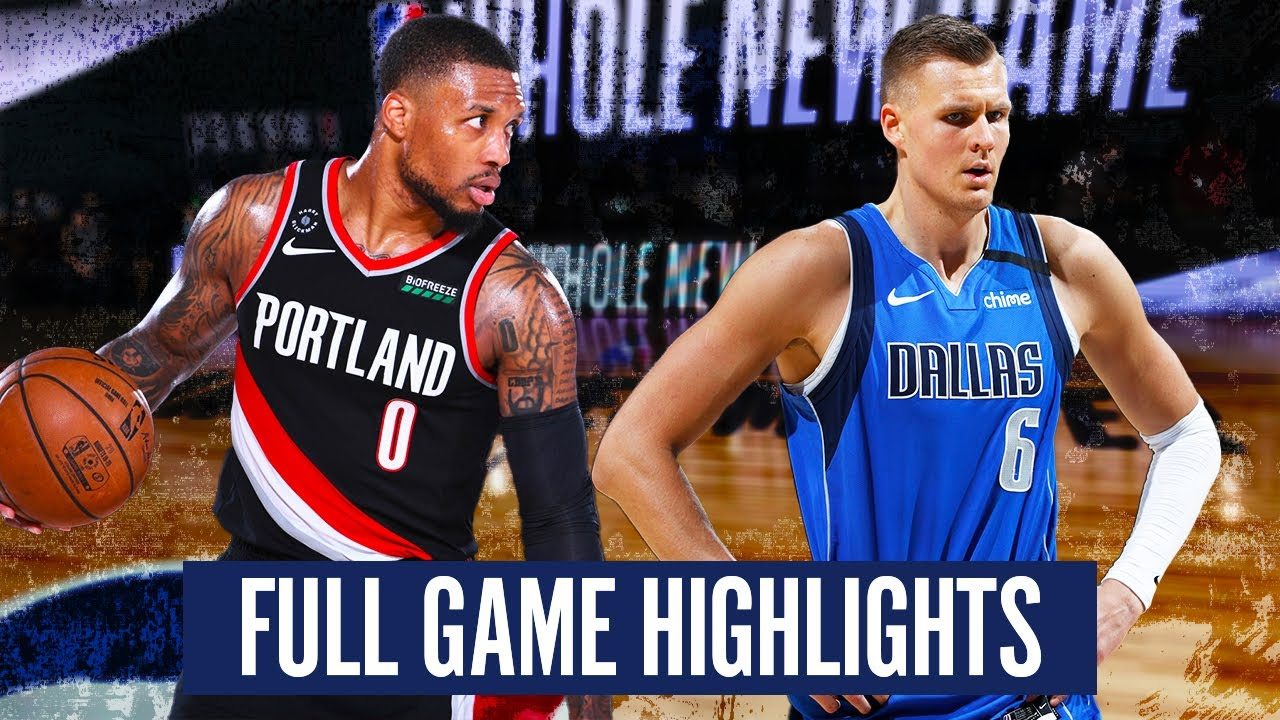 Download PORTLAND TRAIL BLAZERS vs DALLAS MAVERICKS - FULL GAME HIGHLIGHTS | 2019-20 NBA SEASON