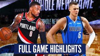 PORTLAND TRAIL BLAZERS vs DALLAS MAVERICKS - FULL GAME HIGHLIGHTS   2019-20 NBA SEASON