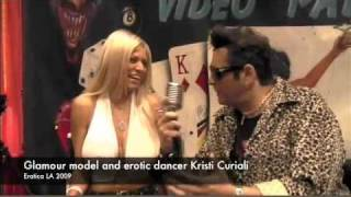 Erotic Dancer and Glamour Model Kristi Curiali on Harley's XXX TV Thumbnail