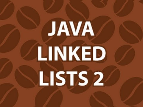 Linked List In Java 2
