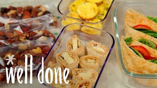 How To Make 4 Easy Travel Snacks That Are Ready To Hit The Road  Recipe  Well Done