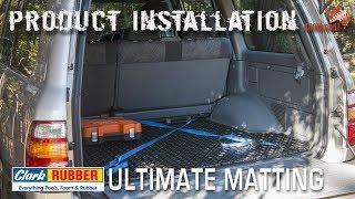 Product Installation | Clark Rubber Ultimate Matting | ALLOFFROAD