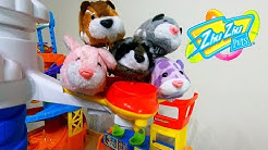 Zhu Zhu Pets at the Airport in Smart Wheel City! Flying ZHU ZHU Hamsters galore!