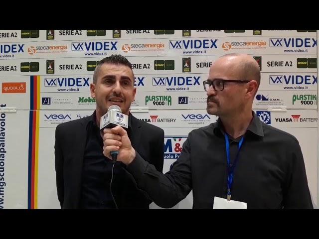 M&G Videx-Olimpia Bergamo 1-3. Ecco i commenti post gara di coach Ortenzi.