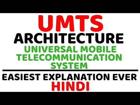 UMTS Architecture Ll Universal Mobile Telecommunication System Ll UTRAN, RNC, NodeB Explained