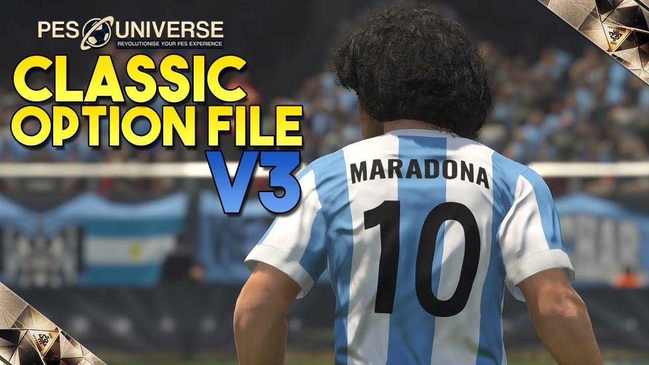TTB] PES 2017 Classic Option File V3 - Download now! - National