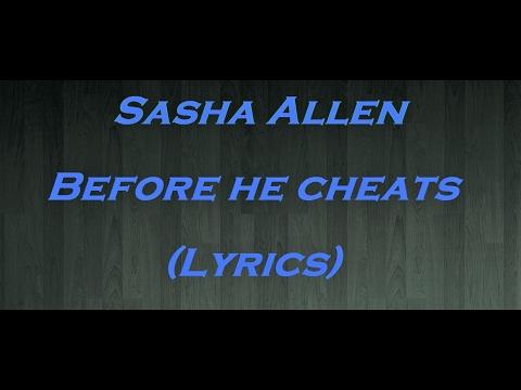 Before he cheats - Sasha Allen (Lyrics Español - English)