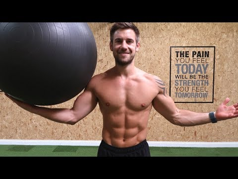 3 Easy, Effective Stability Ball Workouts
