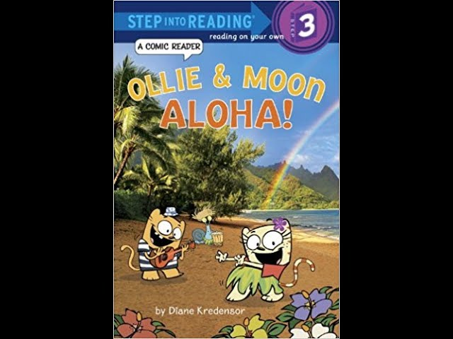 Ollie & Moon : Aloha! by Sithara --- Book Review