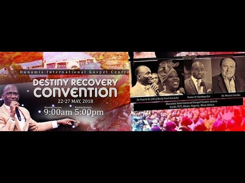 #DRC2018-DESTINY RECOVERY CONVENTION DAY 2 MORNING SESSION- 23-05-18