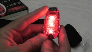 Apace Vision LED Safety Lights REVIEW for runners, dogs, walking, cycling, bike riding