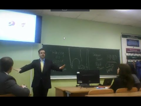 Legal lecture to 30 Russian customs agents and lawyers why did you come to Russia why did you becom