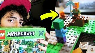 ARMANDO mi LEGO de MINECRAFT !! Que Cool! - Rabahrex