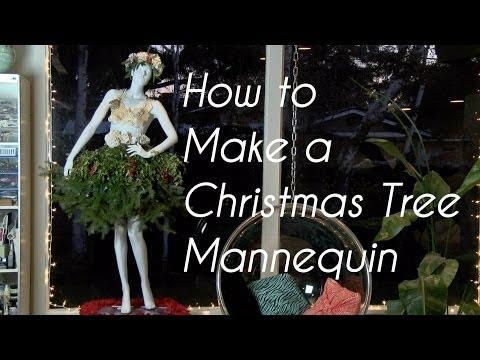 Christmas Tree Mannequin