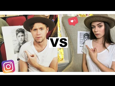 I Copied Niall Horan's Instagram for a Week