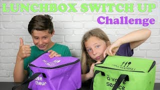LUNCHBOX SWITCH UP CHALLENGE !!