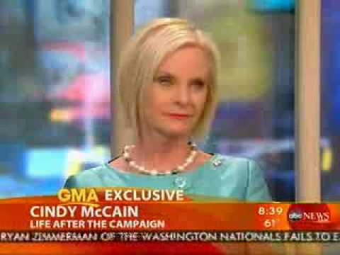 Mrs. Cindy McCain on Good Morning America 05 14 09
