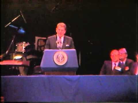 President Ronald Reagan's Speech to Jewish Holocaust Survivors