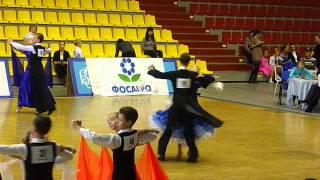 Медленный Вальс бальные танцы Гаврина Юлиана г. Череповец