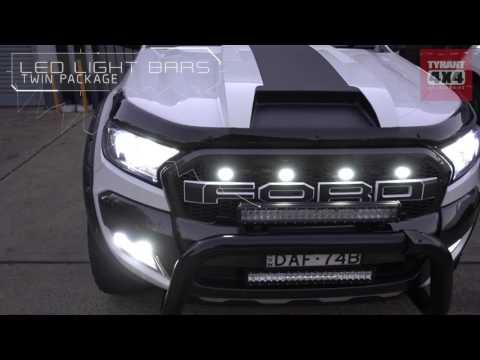 Ford Ranger Wildtrak Cool White Tyrant Accessories Australia