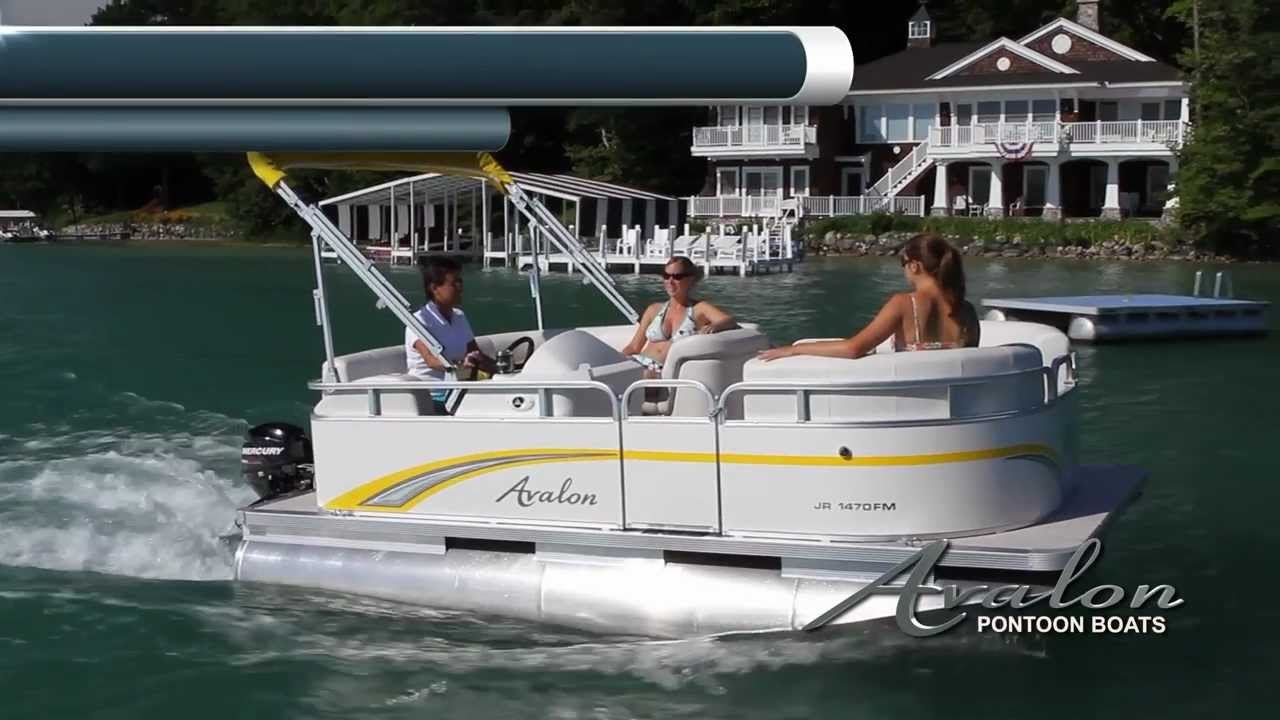 2013 Pontoon Boats - The Eagle- Avalon Pontoon Boats- A Series